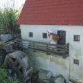 model vesnice v Plešovicích
